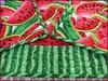 830_Watermelon Table Runner_q (QuiltinWaYnE) Tags: quilted handmade kitchentabledecor diningtabledecor coffeetabledecor dresserdecor tablemat tablerunner tabledecor quiltedtablerunner credenzamat quiltedrunner quiltsy etsyseller etsyquilter etsy etsyshop etsyhandmade qqqetsy sideboardmat quiltedtabledecor tablelinen kitchenislanddecor handmadequilt tablequilt watermelon