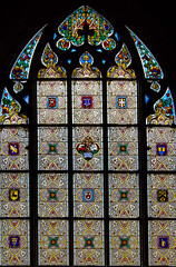 Swiss Stained Glass (KellarW) Tags: bern stainedglass swiss kerk church switerzerland