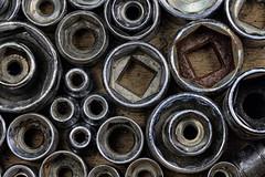 Sockets (Hylas) Tags: tools sockets macro metal canon7dmarkii canonef100mmf28lisusmmacro macromondays circles
