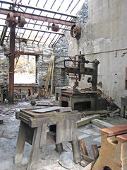 Old workshop (Helen in Wales) Tags: blaenauffestiniog llechwedd slate quarry industrial northwales