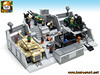 LEGO JOE HQ COMMAND CENTER 02 (baronsat) Tags: lego gijoe gi joe command center hq headquarters playset moc custom model toy 334 action figures military base vintage 1983 cartoon comics books commercials real american heroe fortress team operation stronghold fortified cannon