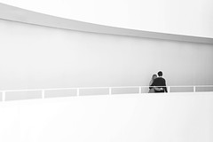 The corridor of love (The Ultimate Photographer) Tags: love amour couple loving corridor aarhus denmark aros museum walking hands holding married young boy girl romantic romantism canon6d ultimatephotography streetphotography blackandwhite blackwhite photography white holiday weekend visitmuseum