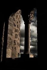 Frias. Burgos. IMG_9382_ps (Inclitus) Tags: pueblo frias burgos medieval nubes arquitectura tormenta