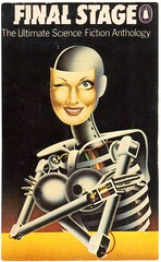 Postcrossing US-5255392 (booboo_babies) Tags: 1970s book sciencefiction skeleton woman scifi 1975 postcrossing