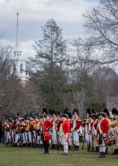 It Must Be April - The Red Coats Are Coming! (lclower19) Tags: patriotsday dress rehearsal british soldiers revolution lexington massachusetts odc preservingourheritage colonial america red coats