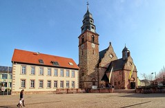 Kahl am Main Ev.Kirche St.Magareta (wernerfunk) Tags: church franken kirche