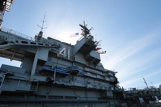 USS Midway Bridge