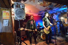 DSC_0066 (richardclarkephotos) Tags: tim bish joey luca © richard clarke photos derellas three horseshoes bradford avon wiltshire uk lone sharks guitar bass drums guitarist drummer bassist band bands live music punk