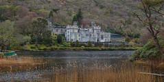 Kylemore abbey (Leo Bissett) Tags: kylemore abbey nuns castle mansion lough tranquil peaceful connemara mountain mayo galway