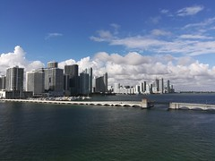 A look at Miami from South Beach.
