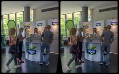 Alpro @ Vegmed 2018 3-D / CrossView / Stereoscopy / HDRaw (Stereotron) Tags: vegmed kongress berlin freie universität alpro soy alternative milk cow vegetarian vegan public gathering event medical doctor disease prevention cancer obesity education cross eye view xview pair free side by sbs kreuzblick 3d photo stereo 3rd dimension spatial stereophoto stereophotography stereoscopic stereoscopy stereotron threedimensional stereophotomaker photograph picture image