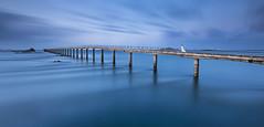 Blue (SB29400) Tags: roscoff bretagne finistère mer blue heurebleue white paysage poselongue