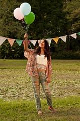 The bday girl (Luz Del Mar Silva) Tags: bday girl 15 balloons globos globo balloon party pre15