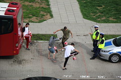 036A6458 (zet11) Tags: poland warsaw street police footballers intervention sneakpeek game dribble