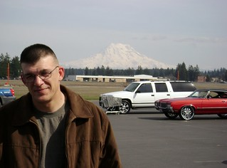 Mt. Rainier from Fort Lewis