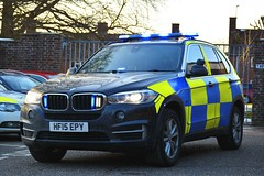 HF15 EPY (S11 AUN) Tags: dorset police bmw x5 xdrive30d 4x4 arv armed response firearmssupportunit advanced driver training incident vehicle rpu roads policing unit traffic car drivertraining driving school 999 emergency hf15epy