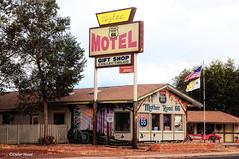 Motel sur la route 66 (didier95) Tags: motel route66 arizona seligman architecture usa ameriquedelouest vintage