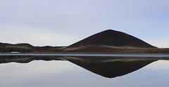 Gráakúla (hó) Tags: gráakúla snæfellsnes selvallavatn geology reflection lake mound crater hill landscape iceland march 2018 blue water