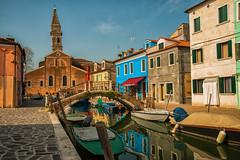 Buona domenica... (Jean-Pierre54) Tags: burano venezia ilcampanilestorto