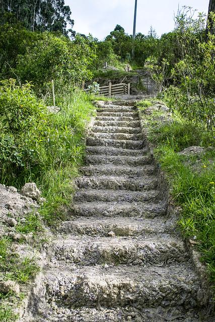 Camino a la cima del Nodo Cerros Orientales