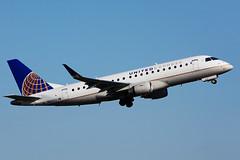 N86322 (Mesa Airlines) (Steelhead 2010) Tags: unitedairlines unitedexpress mesaairlines yyz nreg n86322 embraer emb175