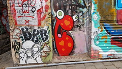 Barek & Krispe... (colourourcity) Tags: streetart streetartnow graffiti graffitimelbourne burncity awesome colourourcity nofilters melbourne streetartaustralia barekart barek barekworld lovelandslane handrawn krispe hfc