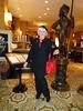 Being A Lady (Laurette Victoria) Tags: lady woman laurette hotel lobby milwaukee pfisterhotel silver beret purse pants jacket pantsuit