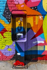 The Phone (Kool Cats Photography over 10 Million Views) Tags: art architecture artistic abstract photography painting colorful photoart phone payphone oklahoma oklahomacity outdoor abstractart