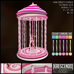 [Kres] Candy Cage ([krescendo]) Tags: blush secondlife sl kres krescendo candy candycage kawaii babygirl ds