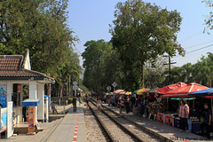 I_B_IMG_8871 (florian_grupp) Tags: southeast asia thailand siam thai train railway railroad srt staterailwayofthailand metregauge metergauge kanchanaburi deathrailway riverkwai japan ww2 bridge riverkwaibridge famous