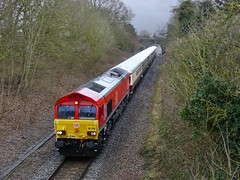 66230 Eastleigh to Crewe (james_olympus) Tags: class66 66230 ecs