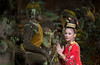 Praying (wu di 3) Tags: asia chiangmai thailand thai costume traditional budnism buddha pray faith religion red yellow