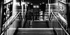 Zenit Jupiter-3 (Зенит Юпитер-3) 50m ƒ1.5 - DSCF9491 (::nicolas ferrand simonnot::) Tags: bokeh depth field dof black white manual prime lens fixed focal length russian macro zenit jupiter3 зенит юпитер3 pt1655 version manufactured ussr by zagorsky optikomechanichesky zavod 1962 | 13 blades aperture m39 ltm streetphotography street photography portrait candid metro subway gate station wide open personnes plafond