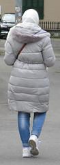 Hijab Girl (Warm Clothes Fetish) Tags: hijab girl coat winter hot