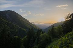 Kaiserbachtal at sunset (peter-goettlich) Tags: kufstein wilder zahmer kaiser kaiserbachtal tirol österreich