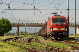 E191 016 DB CARGO ITALIA - RIVALTA SCRIVIA