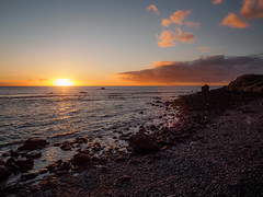 Sunset at Valle Gran Rey, La Gomera (B_Diana) Tags: lagomera sunset beach vallegranrey