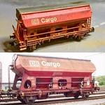 Minitrix N gauge DB Cargo Tdgs-v thumbnail