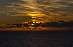 Sunset (davebentleyphotography) Tags: davebentleyphotography 2017 carnival cruise sea ocean outtosea sunset carnivalcruise