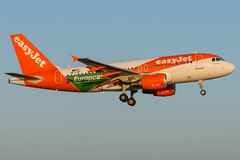 Easyjet / A319 / OE-LQY / LFRS 21 (_Wouter Cooremans) Tags: nte lfrs nantes aeroport spotting spotter avgeek aviation airplanespotting atlantique easyjet a319 oelqy 21 europcar sticker