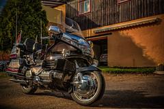 HONDA GoldWing SE 1500 (Peter's HDR-Studio) Tags: petershdrstudio hdr motorbike motorrad honda goldwing sun sonne