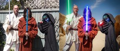 Before and After (Wayne Cappleman (Haywain Photography)) Tags: wayne cappleman haywain photography farnborough hampshire portrait photographer retoucher star wars may fourth force