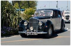 Vintage Bentley (zweiblumen) Tags: bentley vintage classic car evy275 liberationday guernsey stpeterport channelislands canoneos50d canonef50mmf14usm polariser zweiblumen picmonkey