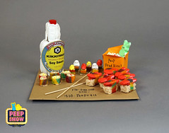 95-Peep Sushi (Carroll Arts Center) Tags: carroll county arts council 2018 peepshow a display marshmallow masterpieces featuring more than 150 sculptures dioramas graphic oversized characters mosaics created inspired by peepsâ®