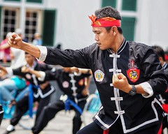 Martial Arts (-Faisal Aljunied - !!) Tags: 75mm omdem5 olympus indonesia jakarta martialarts faisalaljunied