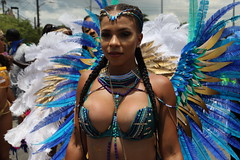 Hot Redbone (Chuck Diesel) Tags: jamaicacarnival2018 costume masquerader roadmarch parade bigtitties cleavage boobs breasts tits kingston jamaica