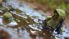 After the flood (RagingPhotography) Tags: lego star wars clonetrooper clone trooper republic 41st forty first 41 elite corps muddy mud water damp wet outside outdoor outdoors reflection reflect reflecting shine shining glistening glisten plastic toy toys minifigure minifig figure scout blaster blasters weapon weapons walking walk through ragingphotography