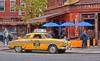 yellow cab (poludziber1) Tags: nyc ny new york manhattan usa city urban yellow car people travel red