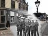 Houttil 1942-2018 (Regionaal Archief Alkmaar) Tags: timewarp thenandnow rephotography toenennu tweedewereldoorlog wo2 ww2 zweiterweltkrieg secondworldwar alkmaar wehrmacht