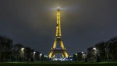 Illuminated Eiffel-Tower